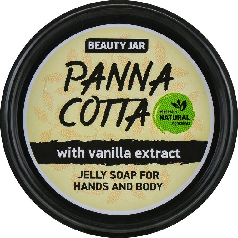 """Sapone con estratto di vaniglia per mani e corpo """"Panna Cotta"""" - Beauty Jar Jelly Soap For Hands And Body"""