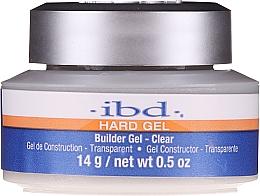 Profumi e cosmetici Gel costruttore per unghie, trasparente - IBD Hard Gel Builder Gel Clear