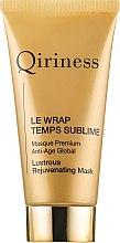 Profumi e cosmetici Maschera rigenerante anti-età - Qiriness Le Wrap Temps Sublime Masque Premium Anti-Age Global