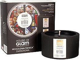 Profumi e cosmetici Candela profumata - House of Glam Frankincense Myrrh Candle