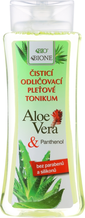 Tonico struccante - Bione Cosmetics Aloe Vera Soothing Cleansing Make-up Removal Facial Tonic