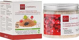 Profumi e cosmetici Scrub allo zucchero per corpo, con burro di karitè e olio di mirtillo - GoCranberry