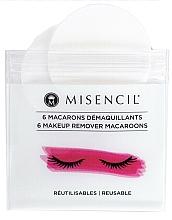 Profumi e cosmetici Dischetti struccanti riutilizzabili - Misencil Makeup Remover Macaroons