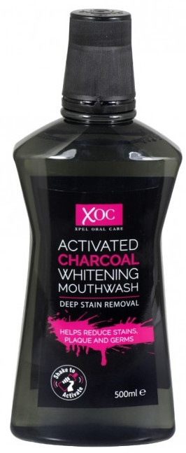 "Collutorio ""Carbone attivo"" - Xoc Activated Charcoal Whitening Mouthwash"
