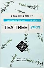Profumi e cosmetici Maschera per pelli problematiche con estratto di albero del tè - Etude House Therapy Air Mask Tea Tree
