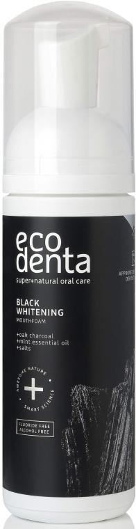 Schiuma Collutorio - Ecodenta Black Whitening Mouthfoam