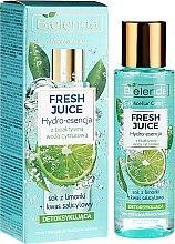 Profumi e cosmetici Idro-essenza disintossicante viso con acqua bioattiva di agrumi - Bielenda Fresh Juice Detoxifying Face Hydro Essence Lime