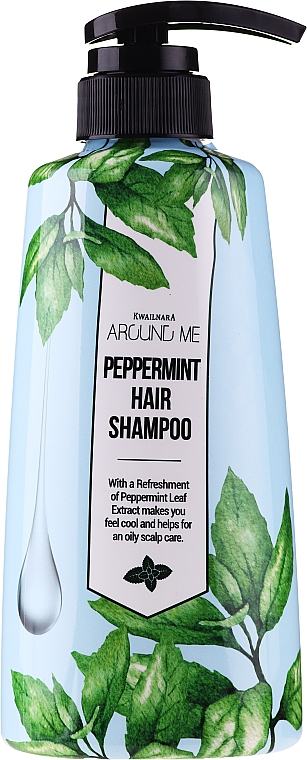 Shampoo per capelli grassi - Welcos Around Me Peppermint Fresh Hair Shampoo