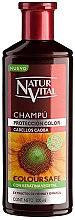 Profumi e cosmetici Shampoo per preservare il colore dei capelli tinti - Natur Vital Coloursafe Henna Colour Shampoo Mahogony Hair