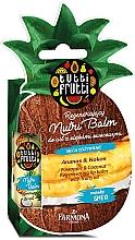 """Profumi e cosmetici Balsamo labbra """"Ananas e Cocco"""" - Farmona Tutti Frutti Regenerating Lip Balm Pineapple & Coconut"""