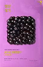 Profumi e cosmetici Maschera vitaminica in tessuto con bacche di acai - Holika Holika Pure Essence Mask Sheet Acai Berry