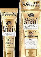 Profumi e cosmetici BB Creama opacizzante - Eveline Cosmetics Royal Snail BB Cream 8in1