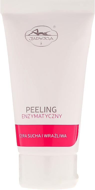Peeling enzimatico con granuli di cera di jojoba, per pelli secche e sensibili - Jadwiga Peeling