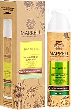 Profumi e cosmetici Crema viso con estratto di bava di lumaca - Markell Cosmetics Bio-Helix Day Cream