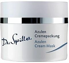 Profumi e cosmetici Crema-maschera per pelli sensibili con azulene - Dr. Spiller Azulen Cream Mask