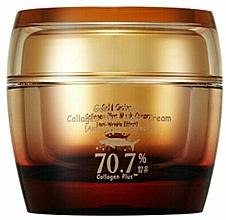 Profumi e cosmetici Crema-maschera al collagene con estratto di caviale - SkinFood Gold Caviar Collagen Plus Mask Cream
