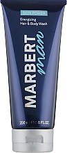 Profumi e cosmetici Shampoo-gel doccia per uomo - Marbert Man Skin Power Hair & Body Wash