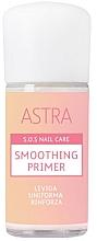 Profumi e cosmetici Primer levigante per unghie - Astra Make-up Sos Nails Care Smoothing Primer