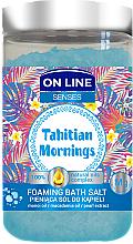 Profumi e cosmetici Sale da bagno - On Line Senses Bath Salt Tahitian Mornings