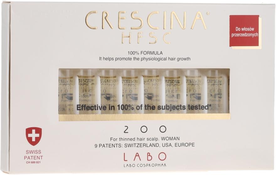 Lozione-concentrato per la crescita dei capelli - Labo Crescina HFSC Re-Growth 200