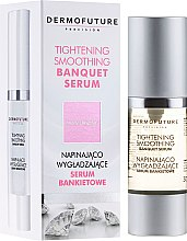 Profumi e cosmetici Siero levigante - DermoFuture Tightening Smoothing Banquet Serum