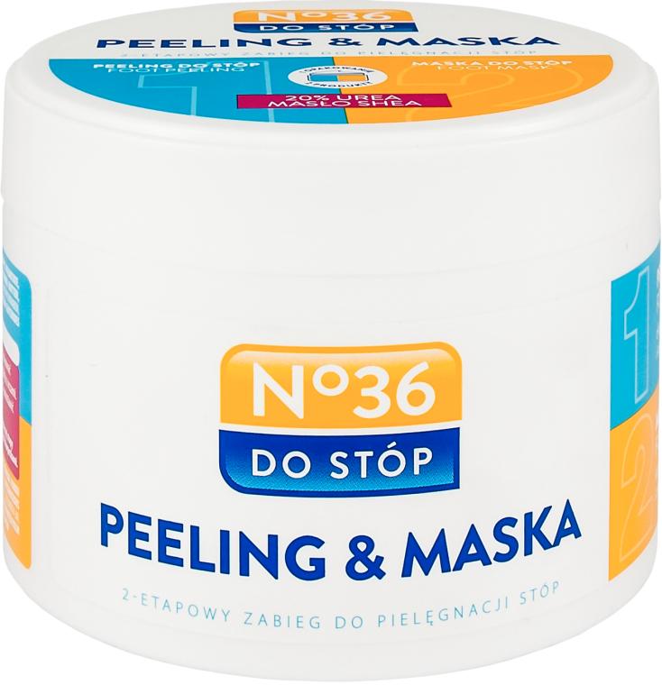 Maschera-peeling per piedi - Pharma CF No.36 Peeling & Mask