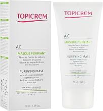 Profumi e cosmetici Maschera purificante per pelli grasse e miste - Topicrem AC Purifying Mask
