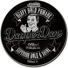 Profumi e cosmetici Cera per acconciature - Dapper Dan Heavy Hold Pomade