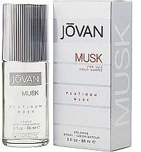 Profumi e cosmetici Jovan Platinum Musk For Men - Colonia