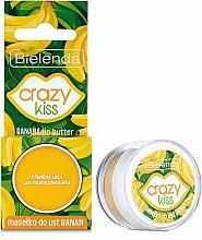 "Profumi e cosmetici Burro labbro ""Banana' - Bielenda Crazy Kiss Banana Lip Butter"
