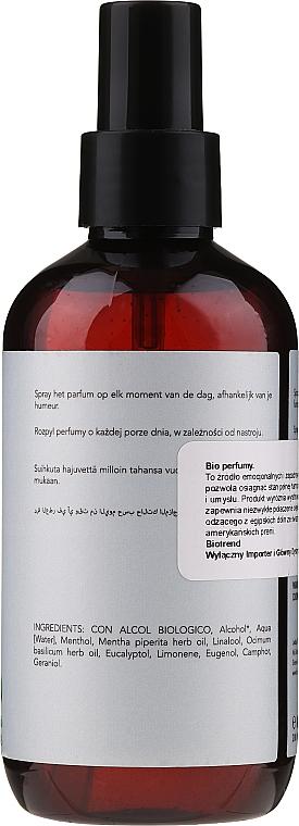 Profumo biologico (acqua di bio) alla menta e basilico - BioBotanic Toi & Moi Bio Water — foto N2