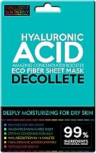 Profumi e cosmetici Maschera express per la zona del décolleté - Beauty Face IST Extremely Moisturizing Decolette Mask Hyaluronic Acid