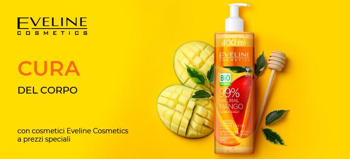 Sconto del 5% sui prodotti promozionali Eveline Cosmetics. I prezzi sul sito sono già scontati