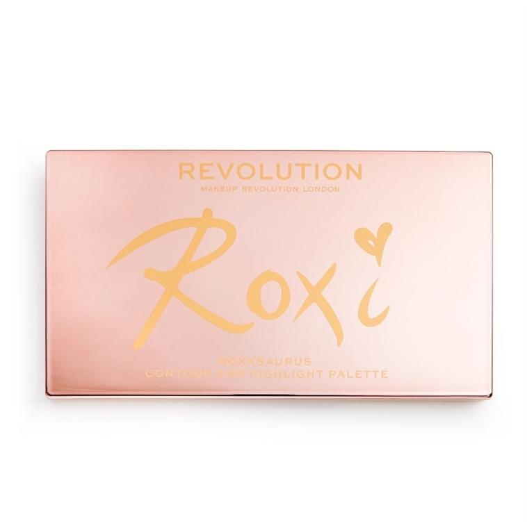 Palette illuminanti - Makeup Revolution Roxxsaurus Roxi Highlight & Contour Palette — foto N4