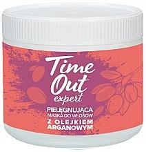 "Profumi e cosmetici Maschera per capelli ""Olio di Argan"" - Time Out"