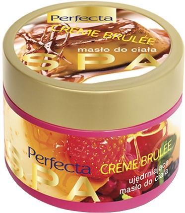 "Burro corpo rassodante ""Crema brulée"" - Perfecta Spa Firming Body Butter"