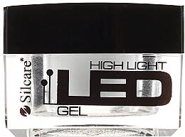 Profumi e cosmetici Gel per unghie - Silcare High Light LED White