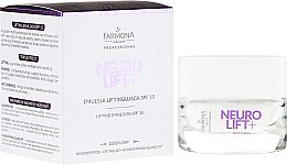 Profumi e cosmetici Emulsione viso lifting - Farmona Neurolift+ Face Lifting Emulsion SPF 15