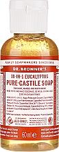 "Profumi e cosmetici Sapone liquido ""Eucalyptus"" - Dr. Bronner's 18-in-1 Pure Castile Soap Eucalyptus"