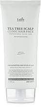 Profumi e cosmetici Maschera per il cuoio capelluto con tea tree - La'dor Tea Tree Scalp Clinic Hair Pack