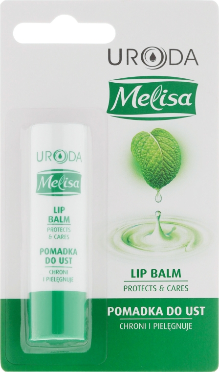 Balsamo labbra protettivo - Uroda Melisa Protective Lip Balm