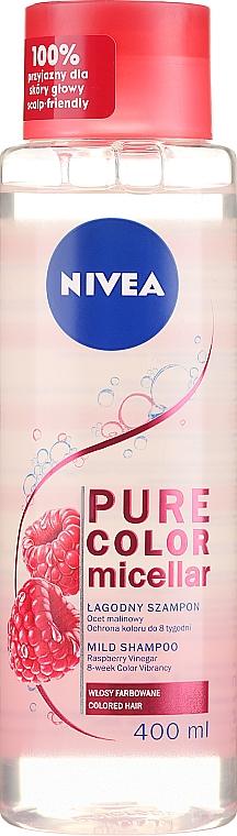 Shampoo micellare per capelli colorati - Nivea Pure Color Micellar Shampoo