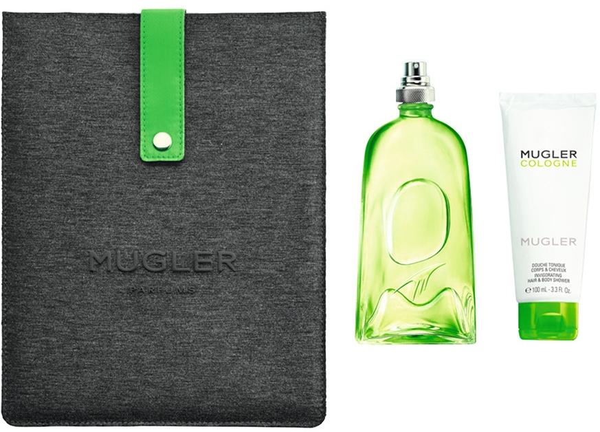 Mugler Cologne Mugler - Set (edt/300ml + sh/gel/100ml + Case for iPad/1)