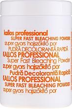 Profumi e cosmetici Polvere schiarente - Kallos Cosmetics Powder For Hair Bleaching