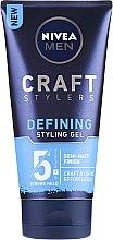 Profumi e cosmetici Gel opacizzante per lo styling - Nivea Men Craft Stylers Defining Styling Gel