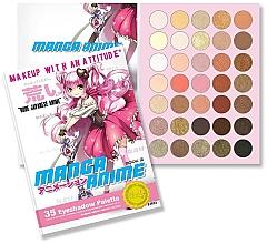 Profumi e cosmetici Palette ombretti - Rude Manga Anime Eyeshadow Palette