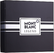 Profumi e cosmetici Montblanc Legend - Set (edt/100ml+ash/balm/100ml+edt/mini/7.5ml)