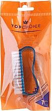 Profumi e cosmetici Spazzola per unghie, 74745, blu - Top Choice