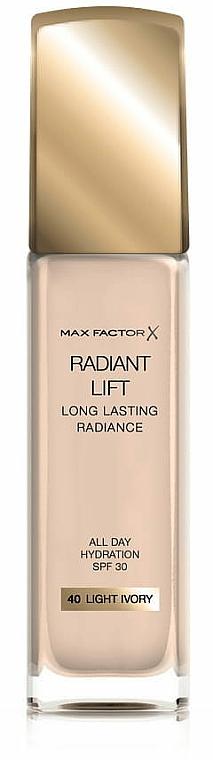 Fondotinta-lifting - Max Factor Radiant Lift Foundation