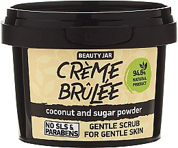 """Scrub viso per pelli sensibili """"Creme brulee"""" - Beauty Jar Gentle Scrub For Gentle Skin — foto N2"""